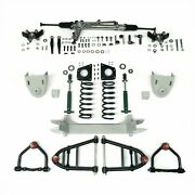 Mii Ifs Front End Power Rack Stock No Brakes Fits Ford Mustang 64-70 Wilwood