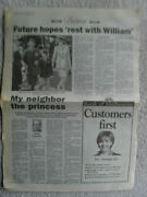 Princess Diana English Crown Royalty Large Magazine And Newspaper Clippings Lot 17