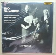 Lp Album Trio Galanterie 18th Century Music For Lute And Strings Sealed, Mint
