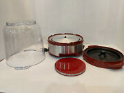 Cuisinart Cpm-700 Popcorn Maker Easypop Series One-touch Pops 16 Cups Red Bowl