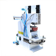 Pneumatic Pad Printing Padding Machine For Clothes Plastic W/ Sealed Ink Cups Us