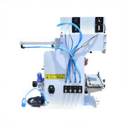 50w Electric And Pneumatic Pad Printing Machine Single Color W/ Sealed Ink Cup Diy