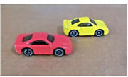 2 Orginal Little Tikes Hot Wheels Adventure Mountain Replacement Cars Red Yellow