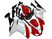 Injection Molded Fairing Fit For Ninja Zx-6r 2007-2008 White Red Black Abs Aaq