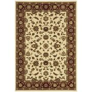 New Tapete Rug Ivory And Red Traditional Rug 400x300cm