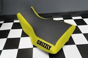Yamaha Grizzly 660 Yellow Sides Logo Seat Cover Yz77kya77
