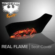 Yamaha Grizzly 660 02-03 Real Flame Seat Cover Tts1695sep1695