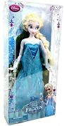 Disney Store Classic Doll Collection Frozen Elsa Original First Edition New