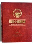 1880 Reprint Power And Machinery Employed In Manufacture Dept Of Interior Census