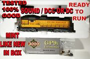 Proto 2000/walther Up Gp-9i173 Factory Sound And Dcc Stock 31167 Mint L/n In Box