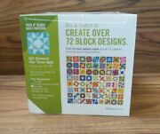 Accuquilt Go Qube Mix And Match 8 Block Includes 8 Dies Mat Pattern Book 55776