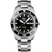 Ball Watch Company Skindiver Heritage Engineer Master Ii Dm3308a-sc-bk 42mm
