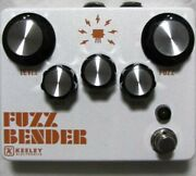 Used Keeley Fuzz Bender Guitar Effects Pedal