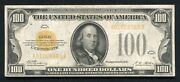 Fr. 2405 1928 100 One Hundred Dollars Gold Certificate Currency Note Vf+ C