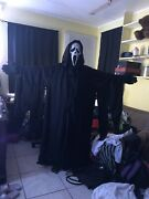 Scream 2 Fearsome Faces Ghost Face Mask Costume Set With Sparkle Robe