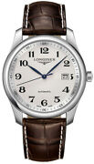 Longines Master Collection 40mm Automatic Mens Brown Leather Watch L2.793.4.78.3