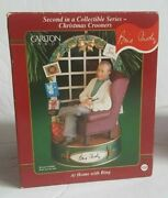 Carlton Cards Musical Ornament Vintage Christmas Crooners At Home W Bing Crosby