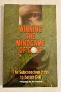 Sealed Winning The Mindgame Of Golf -subconscious Keys To Better Golf-3 Cd+book