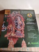 Medieval Clock Built Art Collection Build Your Own Working Clock Wrebbit Sealed