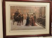 Alan Maley Between Friends Signed Limited Edit Numbered Litho Print 717/750