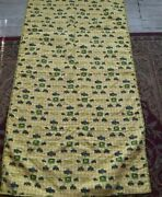 John Deere Country Farmhouse Vintage Hand Stitched Childs Quilt 34x60 Reversible