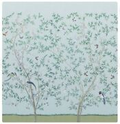 Outstanding Chinoiserie 6 Panel Wallpaper Mural - 3 Sets