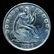 1856-o Seated Liberty Half Dollar ✪ Uncirculated Details ✪ 50c Silver ◢trusted◣