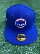 Exclusive Fitted Chicago Cubs 1990 Asg Pink Uv Royal Blue - 7 3/8 Not Hat Club