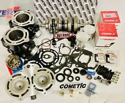 Banshee Stroker Crank Cylinders Long Rod 795 Cheater Stealth Stock Look Kit