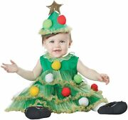 Liland039 Christmas Tree Holiday Fancy Dress Up Halloween Baby Toddler Child Costume