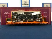 Mth Norfolk Southern 901623 60and039 Flat Car W/ Scaletrax Crossover 20-95233