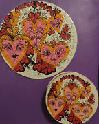 Love Thingies 1968 Sandy Miller Vintage Mini Jigsaw Puzzle Complete By Springbok