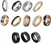 Wholesale 600 Pieces Tungsten Carbide Rings Lot Wedding Rings Various Styles