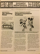 1983 March- Disney Newsreel-tdl Opening Nears- Wed And Napo