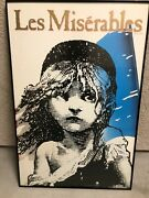 Les Miserables- Broadway Poster- Large Rare 35 X 25 Rolled