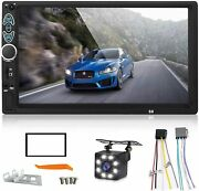 Double Din Car Stereo7 Inch Touch Screen Mp5 Player Support Backup Rear Camera