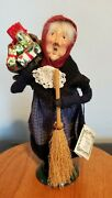 Byers Choice 1994 Old Befana Italian Witch With Original Tag