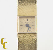 Piaget Womenand039s Solid 18k Yellow Gold Vintage Delicate Hand-winding Watch