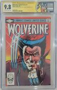 Wolverine Limited Series 1 Cgc 9.8 Signed By Joe Rubenstein And Chris Claremont 🔥
