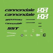 Cannondale Supersix Evo Bicycle Decals, Transfers, Stickers N.5500