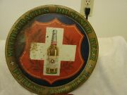Muehlebach's Pilsener Beer Pre-pro Tray 13 With Blob Top Bottle Kansas City Mo.