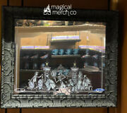 """Disney Parks Haunted Mansion Hitchhiking Ghosts Framed Mirror New In Hand 27x22"""""""