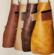 Heavy-duty Work Leather 101 Apron For Bbq, Grill,kitchen,woodwork,barber,welding