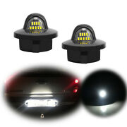 White Led License Plate Lamps For Lincoln Mark Lt, Ford F150 Expedition Explorer