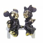 Disney Mickey And Minnie Mouse Bronze Figure Arribas Original Collection