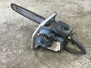 Homelite Blue Xl Automatic Chainsaw With Bar Chain Andbull For Parts/repair Xxx