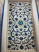 4and039x2and039 Marble Table Top Coffee Semi Precious Stones Inlay Home Pietra Dura W198