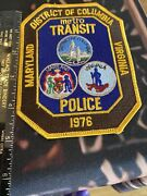 District Of Columbia Transit Police Shoulder Patch