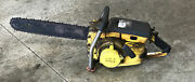 Vintage Mcculloch 1-53 Chainsaw Chain Saw With 18andrdquo Bar Xxx