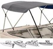 3 Bow Low Profile Bimini Tops For Boats Fits 72 L X 36 H X 73 To 78 Wide